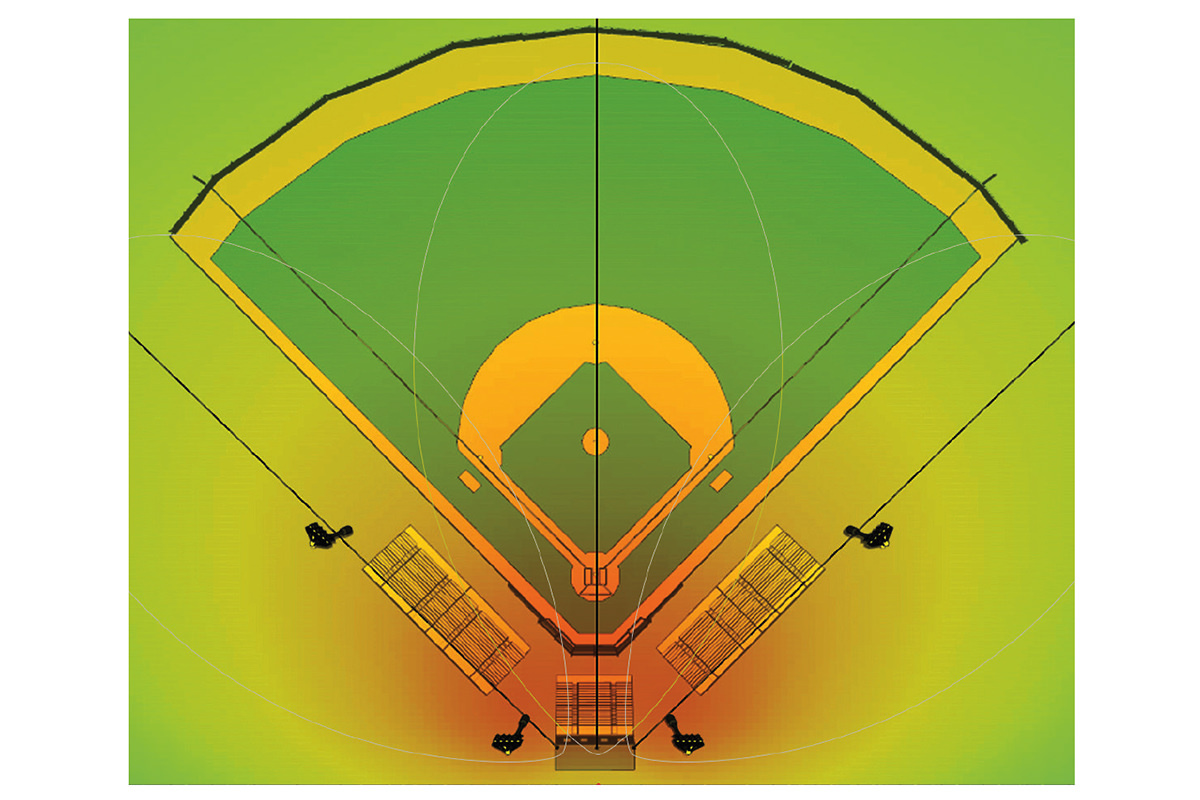 Baseballbane - Arena Akustikk